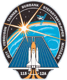 sts 115 mission patch
