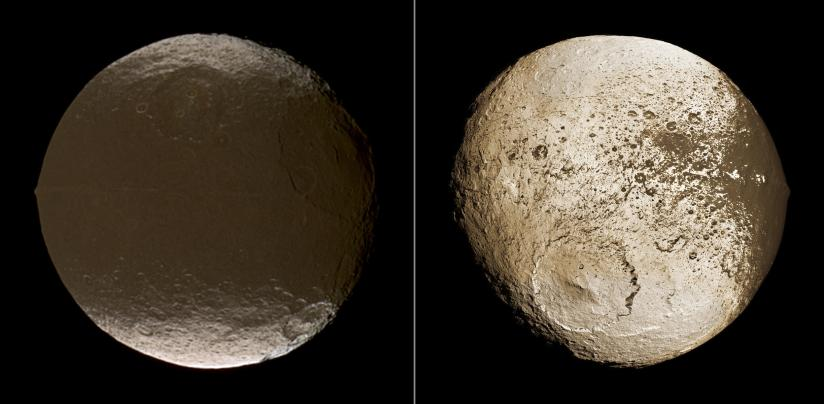 Images of Saturn's Moon Iapetus