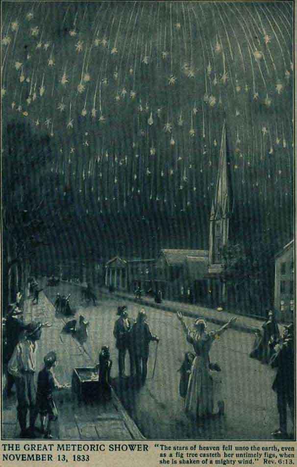 meteor storm 1833