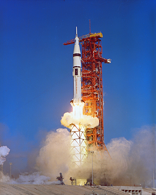 Saturn 1 launch