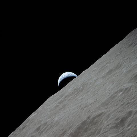 last image from the moon