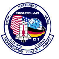 sts 61A mission patch