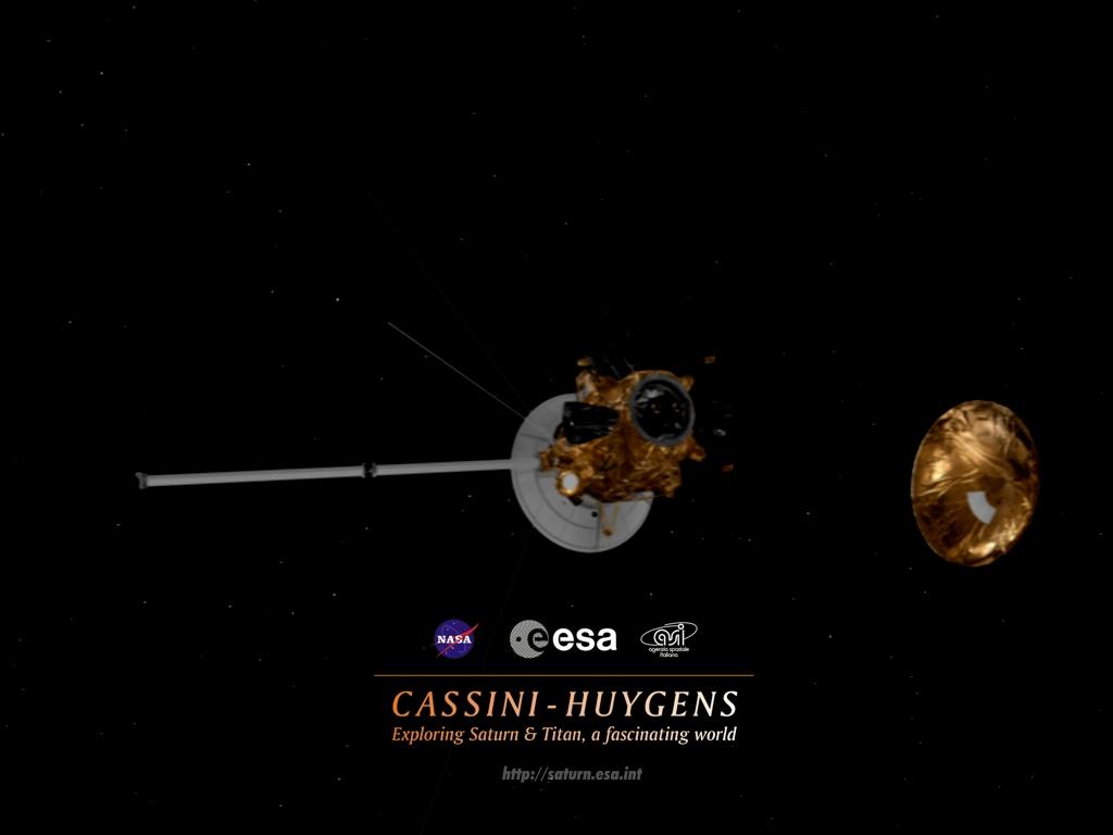 cassini-huygens spaceship