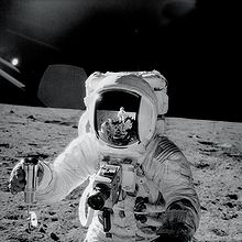 Alan Bean on the Moon