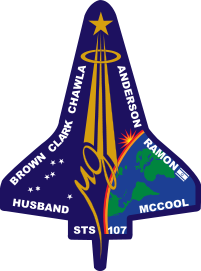 sts 107 mission patch