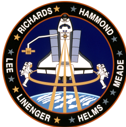 sts 64 mission patch