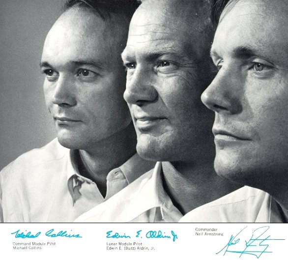 Karsh Portrait of Apollo 11 Crew