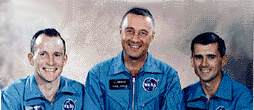 Gus Grissom, Ed White, and Roger Chaffee
