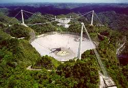 Photo by: David Parker / Courtesy of the NAIC - Arecibo Observatory, a facility of the NSF.