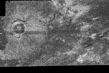 Impact Crater on Titan