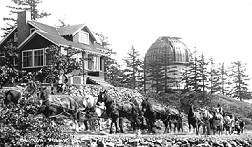 Victoria, BC, Dominion Astrophysical Observatory 1918