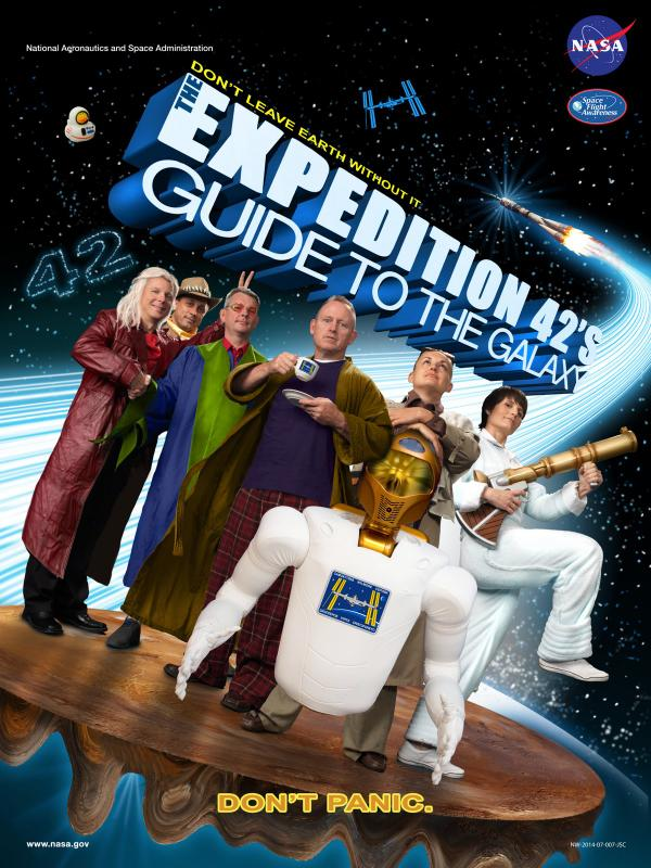 Expedition 42 poster