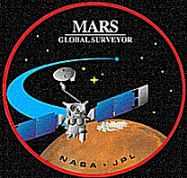 Mars Global Surveyor Mission Patch