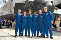 STS-121 Crew returns to Earth