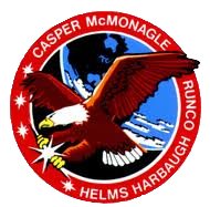 sts-54 mission patch